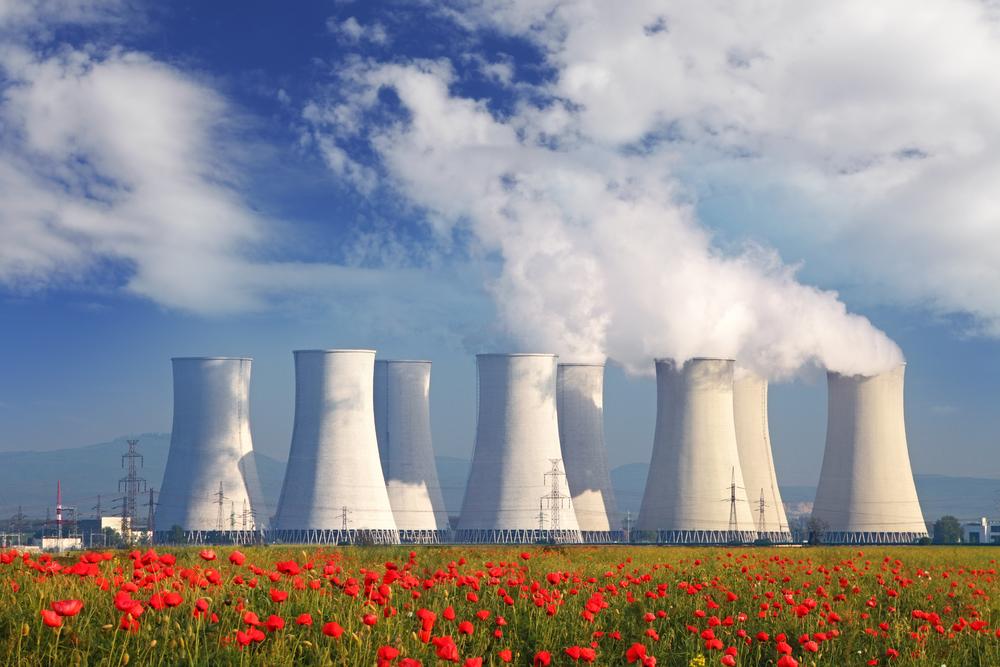 Planta de energía nuclear
