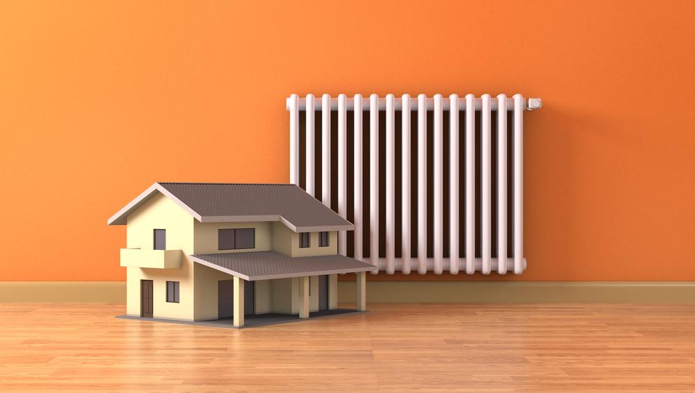 sistema de calefacción eficiente en casa