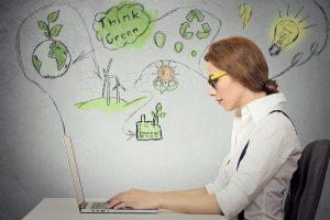 oficina sostenible ecologia y eficiencia