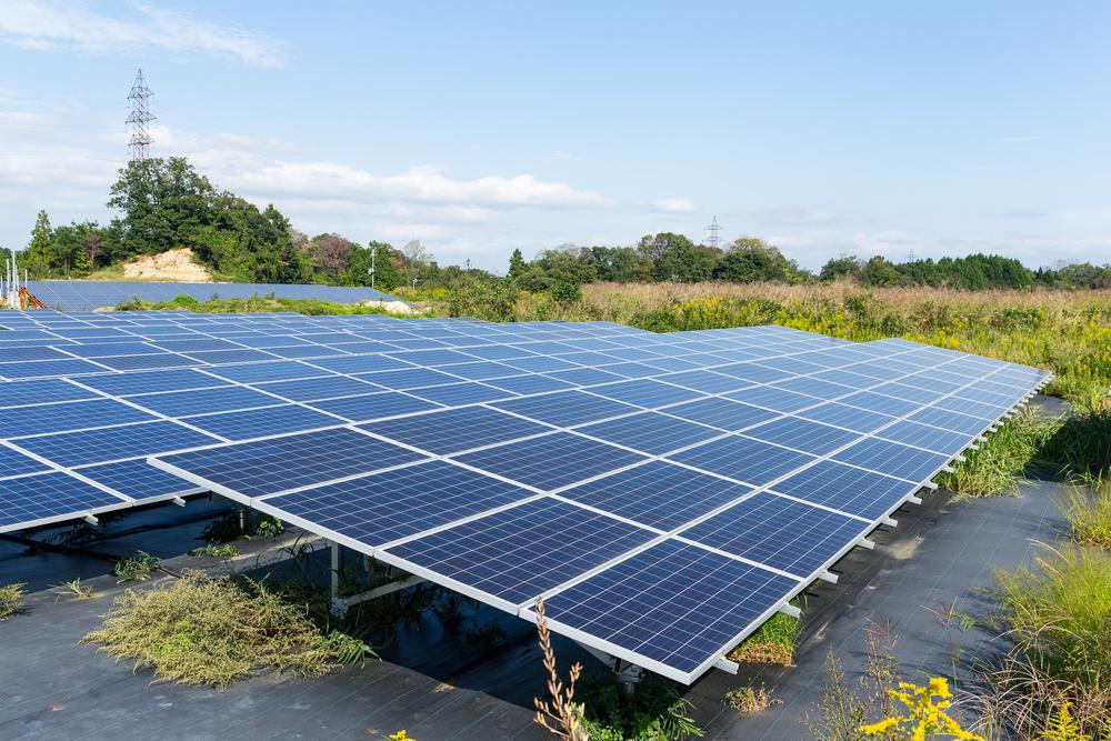 Una planta fotovoltaica