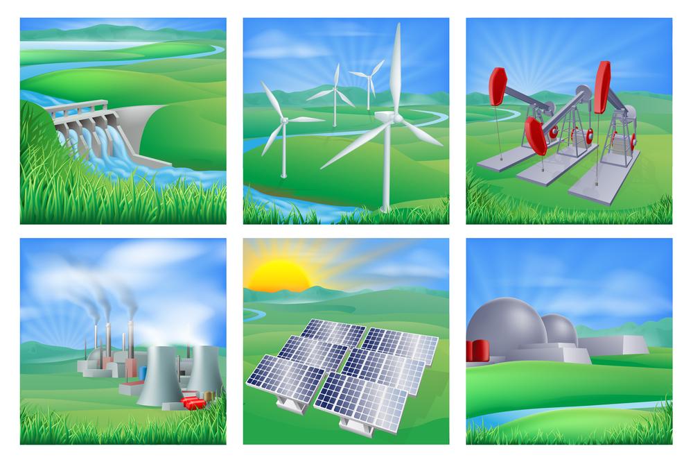 Tipos de centrales eléctricas