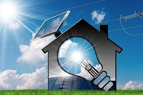 luz con energias renovables